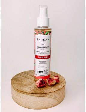 Spray Démêlant- cheveux colorés et méchés - produit cosmétique bio et naturel - Crémieu