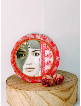 Masque Ghassoul à la Rose - louloudya cosmétique naturelle crémieu isère