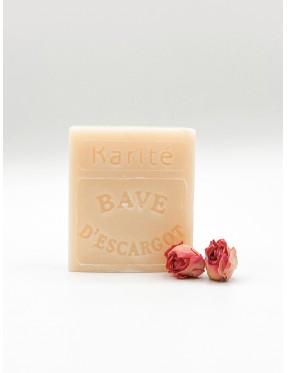 Savon Karité et Bave d'Escargot - cosmétique naturelle - boutique de cosmétique naturelle - crémieu - isère