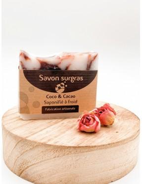 Savon Coco Cacao - cosmétique naturelle - boutique de cosmétique naturelle - crémieu - isère