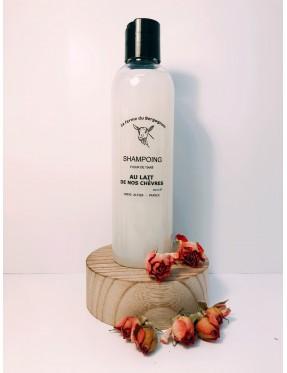 Shampoing au lait de chèvre - cosmétique naturel Ecully